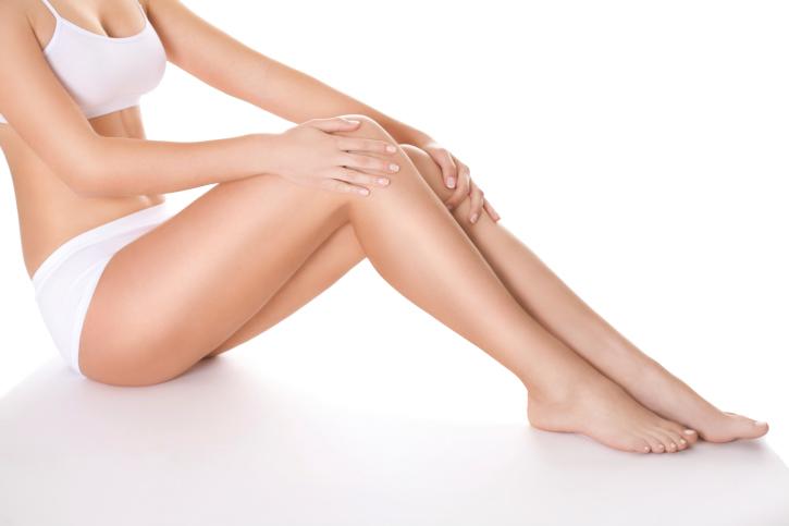 Leg spider vein and thread vein removal